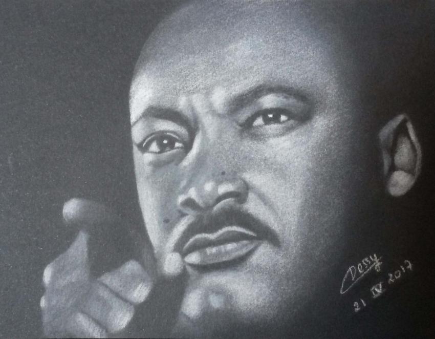 Martin Luther King por Cessydu31